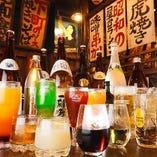 980円~お好きなお酒が飲み放題に!80種類以上!