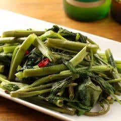 【第3位】空芯菜のベトナム炒め
