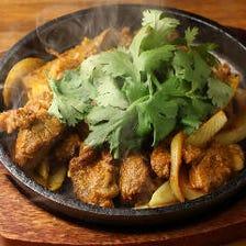 ラム肉のマレー風 スパイスカレー炒め