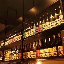 ズラリと並ぶ全国の銘酒