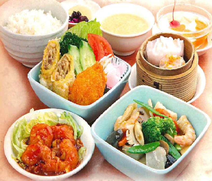 本格広東料理をお楽しみ下さい♪