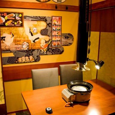焼肉×赤から鍋 赤から 日立田尻店 店内の画像