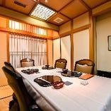 【完全個室】6名様までご利用可能なテーブル個室です。