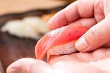 職人が握るお寿司が食べ放題!