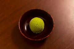 伝統の抹茶アイス