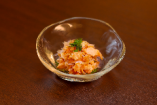 蒸し鶏の梅水晶和え(ランチ)