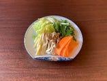 【新登場】鍋野菜5種盛り