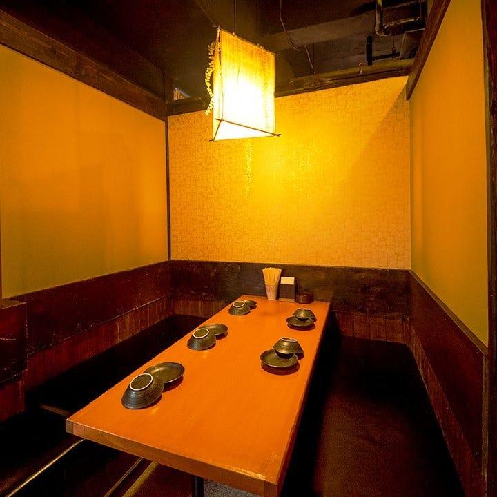 ◆和風扉付き完全個室◆大広間席も有