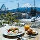 富士山を見ながら朝食が楽しめます!
