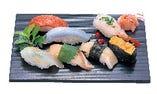 出前迅速!味と魚で勝負の「浜寿司」