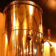 日本酒「生の原酒」が楽しめる