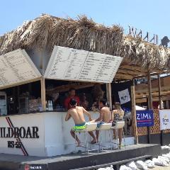 逗子ビーチ 海の家BBQ WILD BOAR