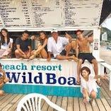 夏がやってきた!!逗子ビーチの名所【ワイルドボア】♪海の家!