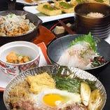 三重県料理祭り開催中! 三重の銘酒と共に…。