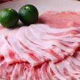 ビタミン豊富な豚肉料理!