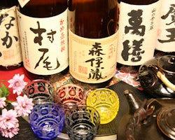 鹿児島と言えば焼酎!希少焼酎も豊富にございます!