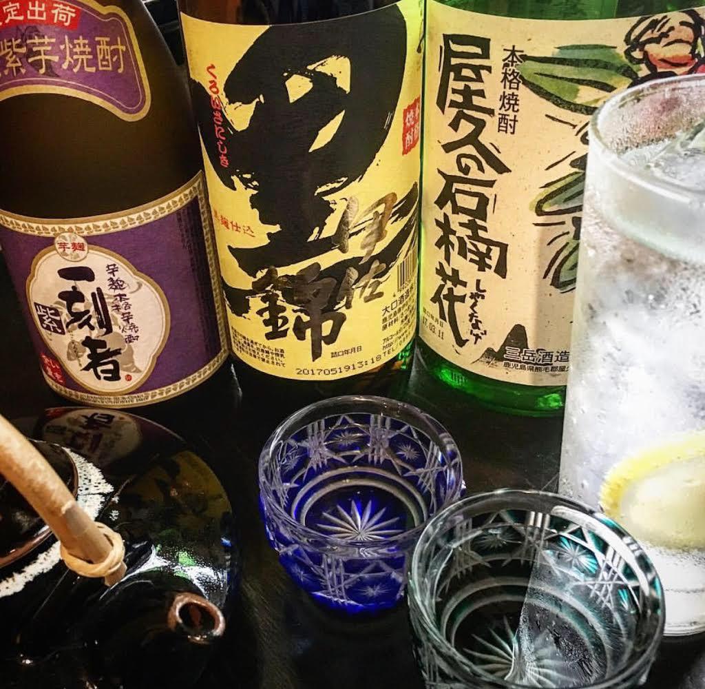 豊富な日本酒や焼酎☆