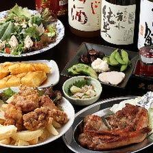 お肉がメインの飲み放題宴会コース!