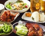 美味しい料理と美味しいお酒で心行くまでお喋りタイムを。