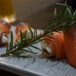 【RECOMMENDED】スモークサーモンとマスカルポーネ前菜