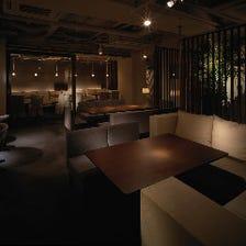 接待・会食に最適な半個室~6名様