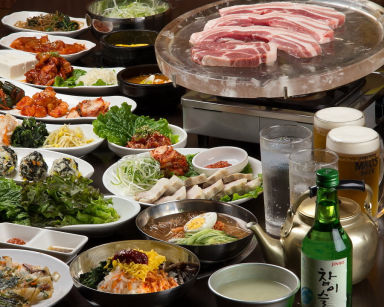 サムギョプサル食べ放題 黒門豚美人  コースの画像