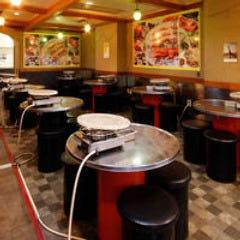 サムギョプサル食べ放題 黒門豚美人  店内の画像