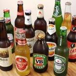 世界のビール各種あります!