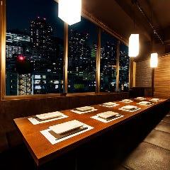 【新宿】ランチタイムで接待で利用できる和食のお店を教えてください!