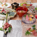 松阪牛・佐賀牛を和食の職人が匠の技で調理します