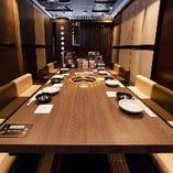 【掘りごたつ個室/6名様~最大24名様】接待から団体様の宴席まで幅広いシーンに。
