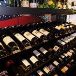 ワインセラーで保存し、おいしい状態でご提供しています。