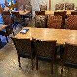 (2-6名様)開放 テーブル席