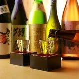 プレミアム日本酒も原価でご提供!