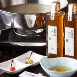 当店の味わいをご自宅で!濱田屋特製酢醤油