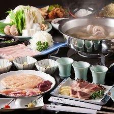 濱田屋 水炊きコース3,800円
