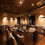 【3F】テーブル席(26席)<半個室あり>