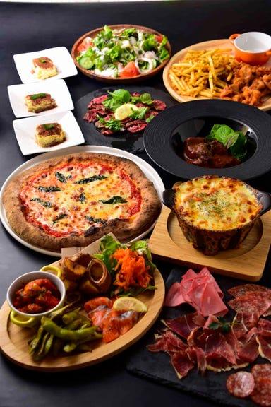 イタリア食堂 がぶ飲みワイン ドバール  コースの画像