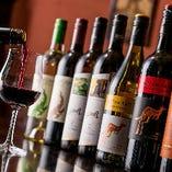 インドやタイのワインも取り揃え