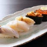 生寿司盛合せ‐鳳(おおとり)‐【五貫】