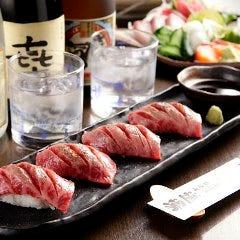 山形牛 炙り寿司