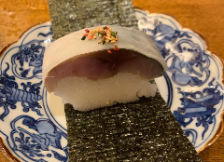 寿司屋の経験を活かした割烹