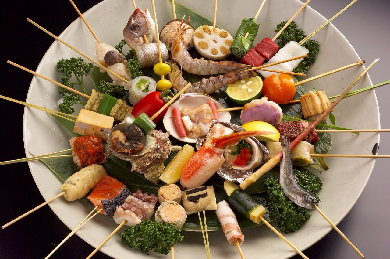 【宴会×接待】四季折々の旬の串かつをお客様のよろしいところでストップして頂けます「おまかせコース」