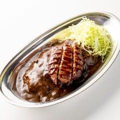 ハンバーグカレー(Hamburger steak Curry)