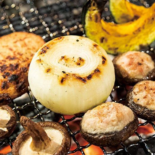 旬の野菜をたっぷり使用した創作料理