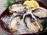 産地直送の生牡蠣【北海道】