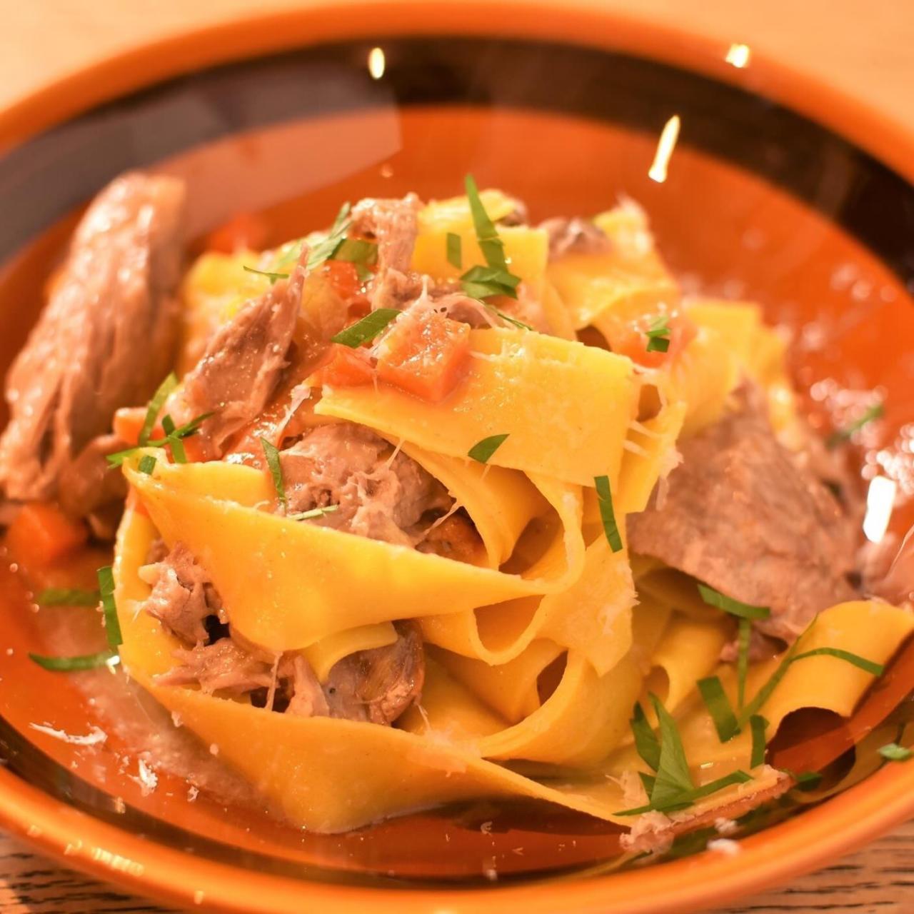 日本では珍しい『マルケ料理』