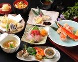 日本の四季に即した厳選食材を贅沢に使用した献立