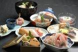 四季折々の会席料理の数々!