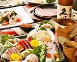 *日本海から毎日仕入れる鮮魚* 宴会料理でも味わえます